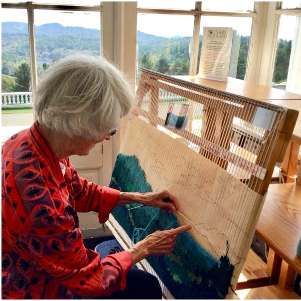 Fiber Wearables & Tapestry Weaving Demo at Moses Cone Manor.jpg