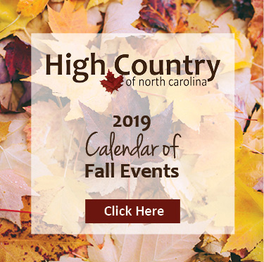 High Country NC October 2019 Upcoming Events