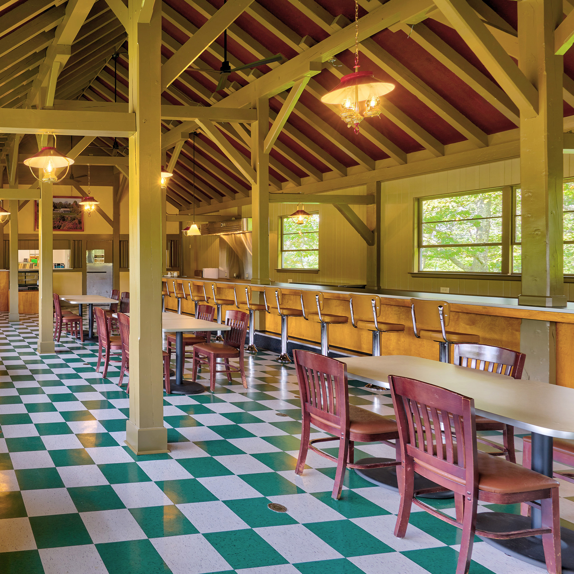 Bluffs Restaurant Blue Ridge Parkway by David Huff