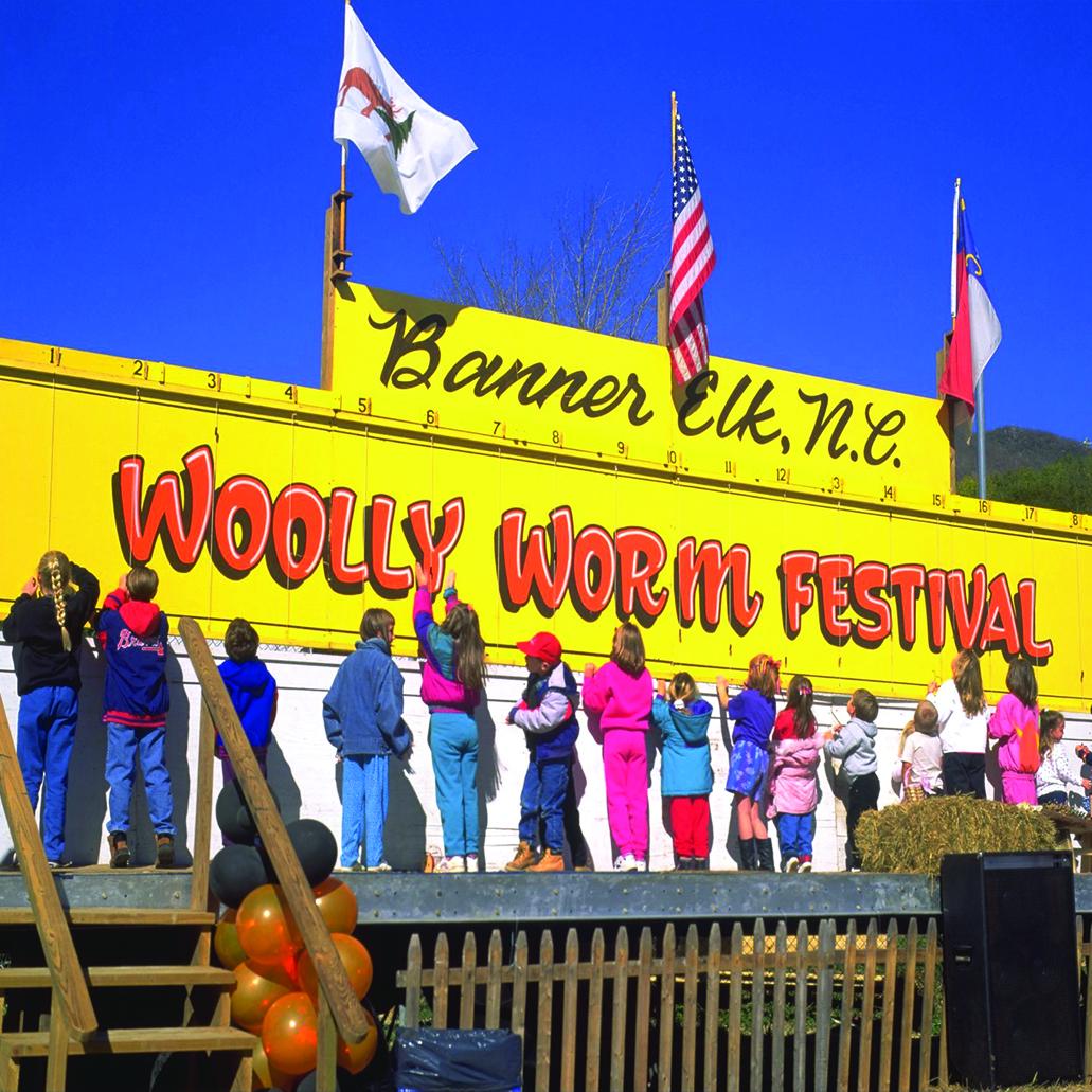 Woolly Worm Festival Banner Elk NC