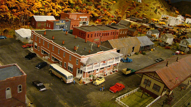 Ashe County History Museum Railroad Diorama