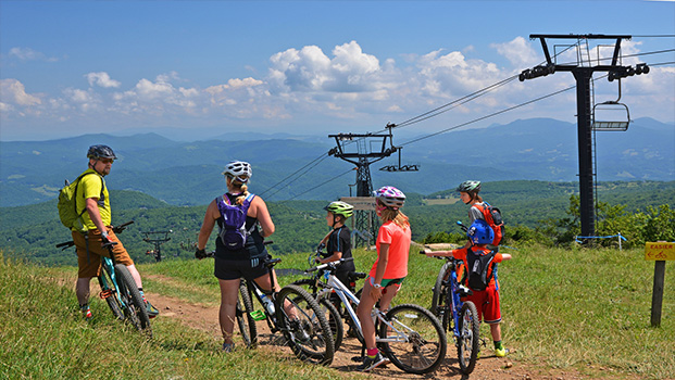 Beech Mountain NC Biking
