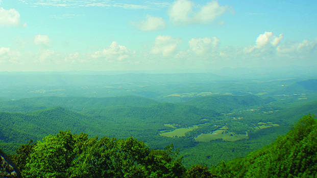 Blue Ridge Parkway Overlook
