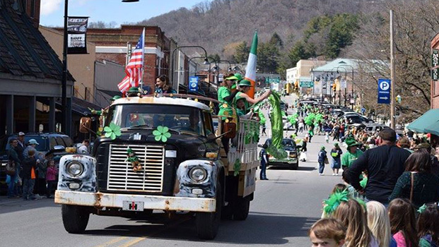 Boone NC St Patricks Day Parade