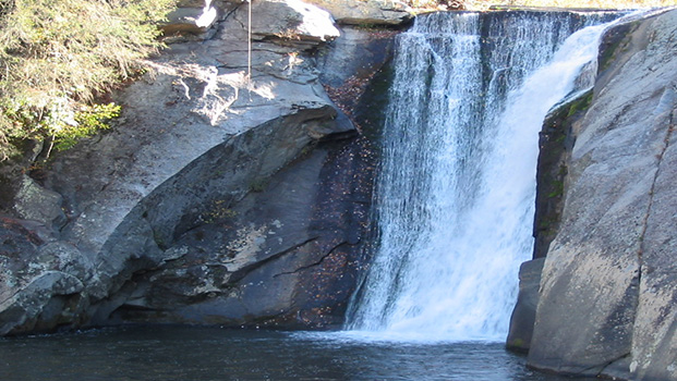 Elk River Falls NC High Country Waterfall