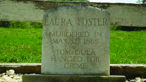 Laura Foster Grave tom Dooley Tour