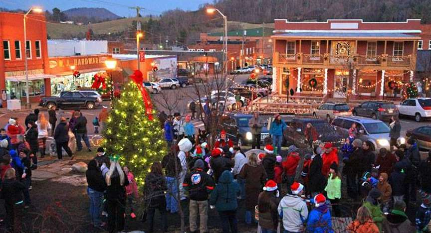 Light up the Town West Jefferson NC