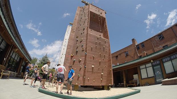 Rock Dimensions Climbing Wall Boone NC