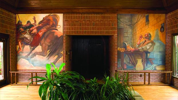 St. Pauls Church Frescoe Wilkesboro NC