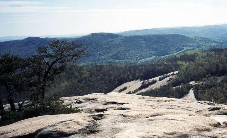 Stone Mountain State Park North Carolina