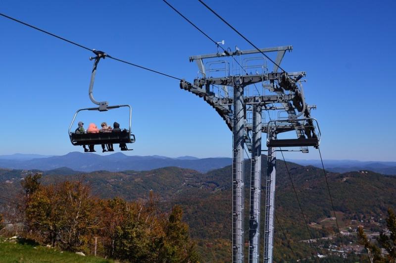 Sugar Mountain Fall Scenic Lift Rides
