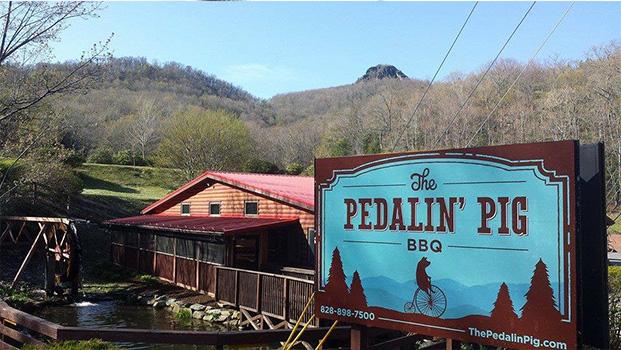 The Pedalin Pig Seven Devils NC