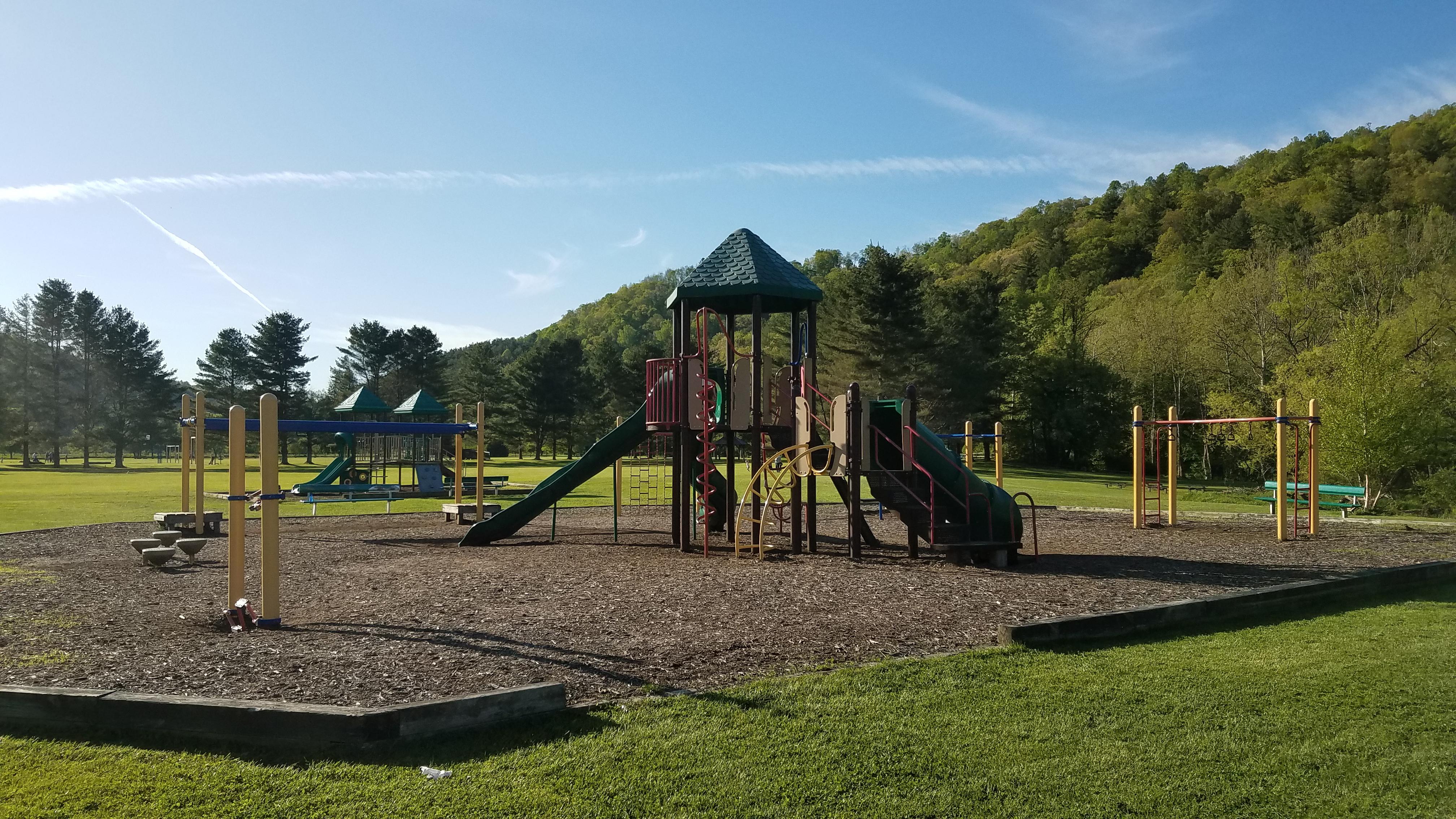 Valle Crucis Park Playground