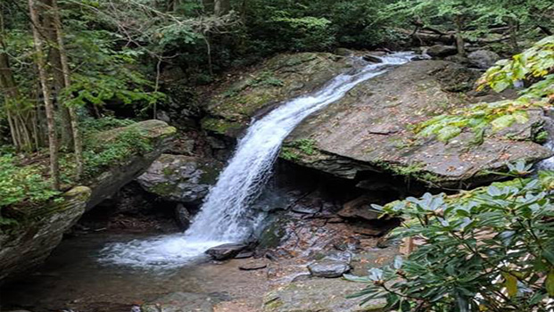 Waterfall Seven Devils NC