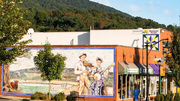 West Jefferson NC Murals