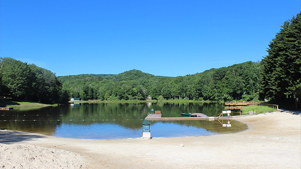Wildcat Lake Banner Elk NC High Country Where to Swimming
